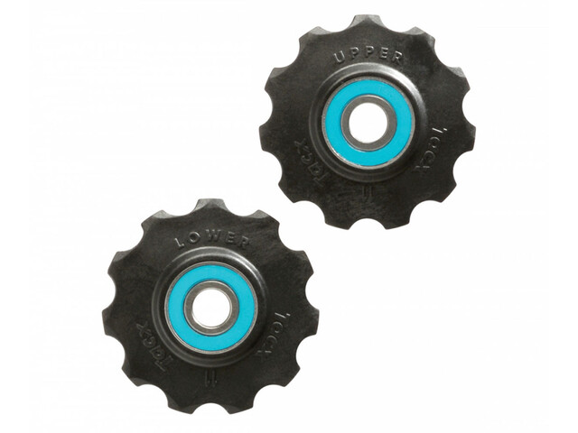 Tacx Ceramic Jockey Wheels 11 Zähne black/blue